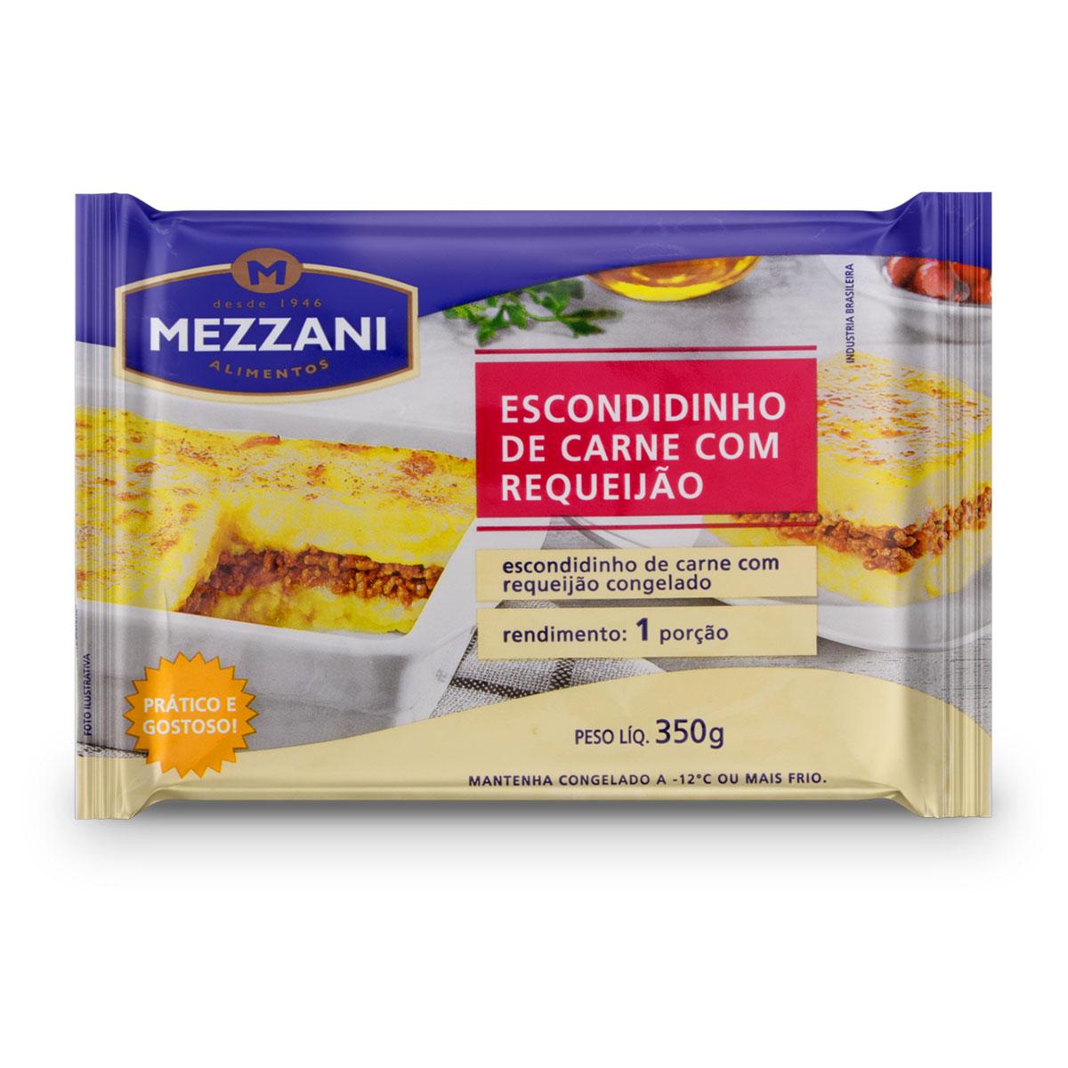 ESCONDIDINHO DE CARNE COM REQUEIJÃO 350G