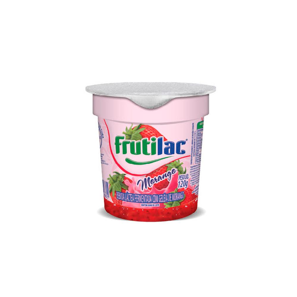Iogurte bicamada morango 120g