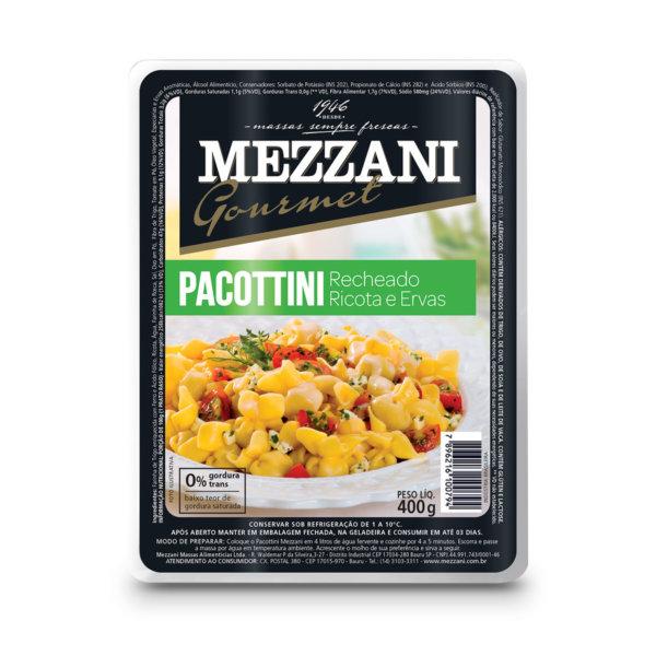 Pacottini de presunto e queijo 400g