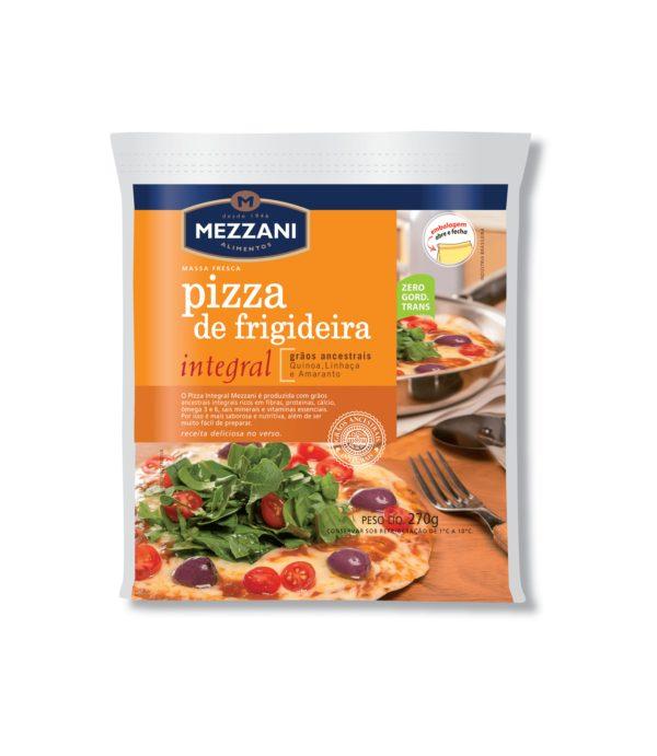 Massa para pizza de frigideira integral 270g