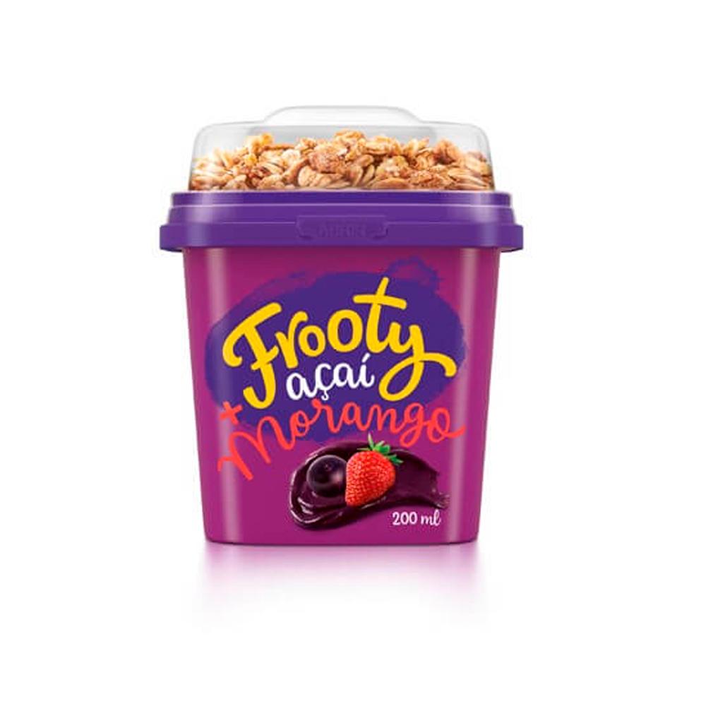 Açaí com Morango 200ml com granola