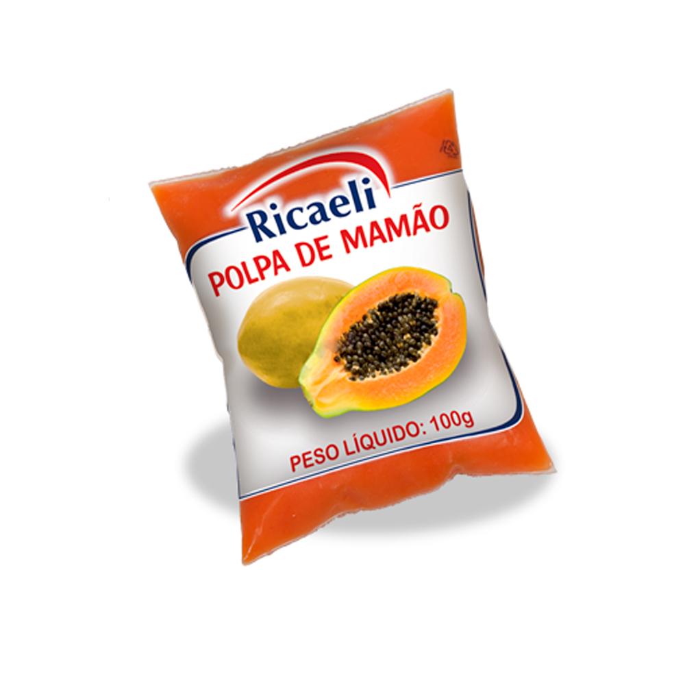 Polpas de Frutas - Mamão